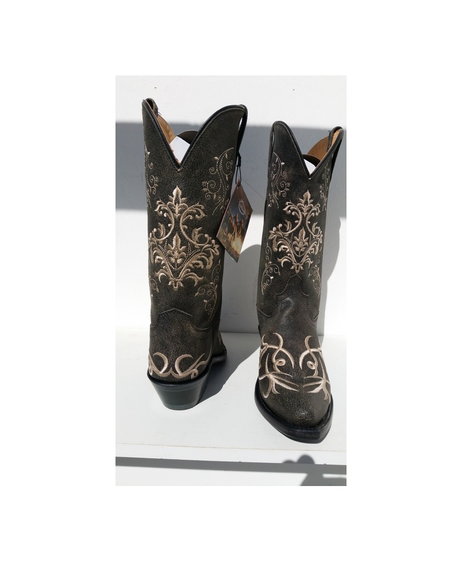 chaussures de sport 6f5c8 24a39 Botte country OLD WEST 1587E